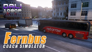 Fernbus Coach Simulator Red Arrow PC Gameplay 1080p 60fps