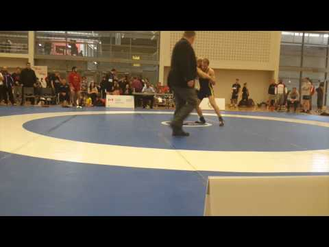2015 Senior Greco-Roman National Championships: 66 kg Joseph Dashou vs. Michael Asselstine