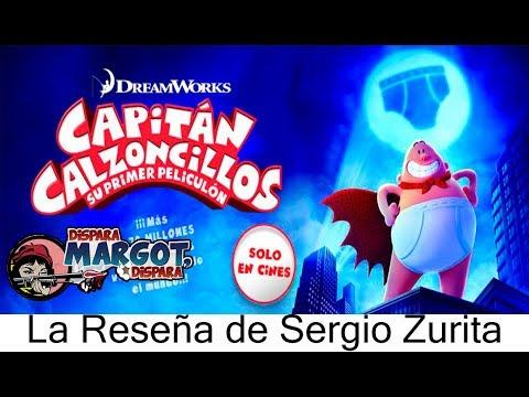 Las Aventuras de Capitán Calzoncillos la Reseña de Sergio Zurita