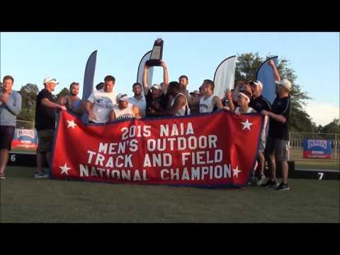 2015 NAIA Outdoor Track & Field National Championship Awards Ceremony