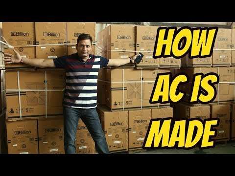 How Air Conditioner Is Made In India | Made For India Ft Billion AC