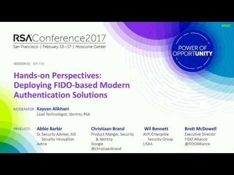 Hands on Perspectives: Deploying FIDO-Based Modern Authentication Solutions