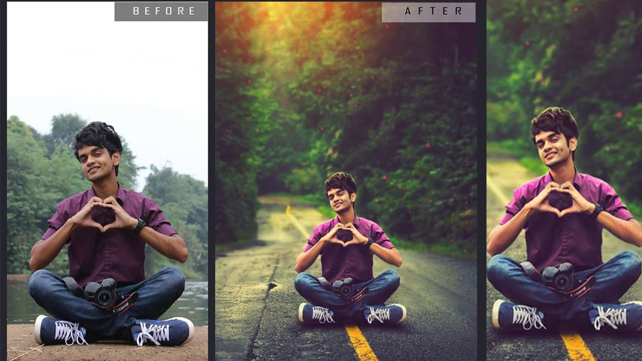 Photoshop Tutorial | How To Change a Photo Background ...