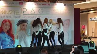 Dreamnote (드림노트) - cong (uhh ohh). p.a.g.e promo tour in kuala lumpur (12 october 2019) at centre court, atria shopping gallery, petaling jaya...