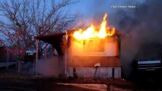 12-7-13 Mobile Home Fire