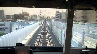 京急川崎→京急蒲田間の前面車窓