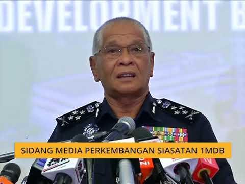 [TERKINI] Sidang media perkembangan siasatan 1MDB