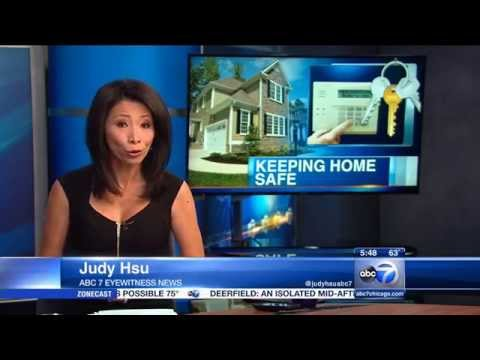 Summertime Home Security - SABRE Home Series Appears On ABC 7 Chicago