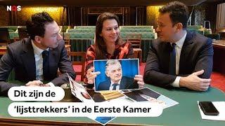 VERKIEZINGEN: Wie zijn de Eerste Kamer-lijsttrekkers?