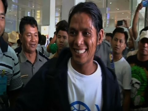Former Fishing Slaves Return To Myanmar