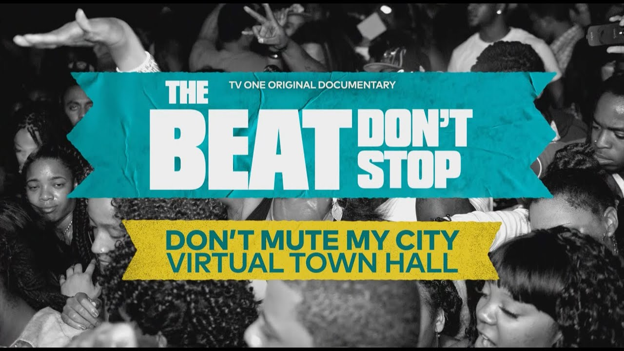 Don't Mute My City Town Hall | The Beat Don't Stop