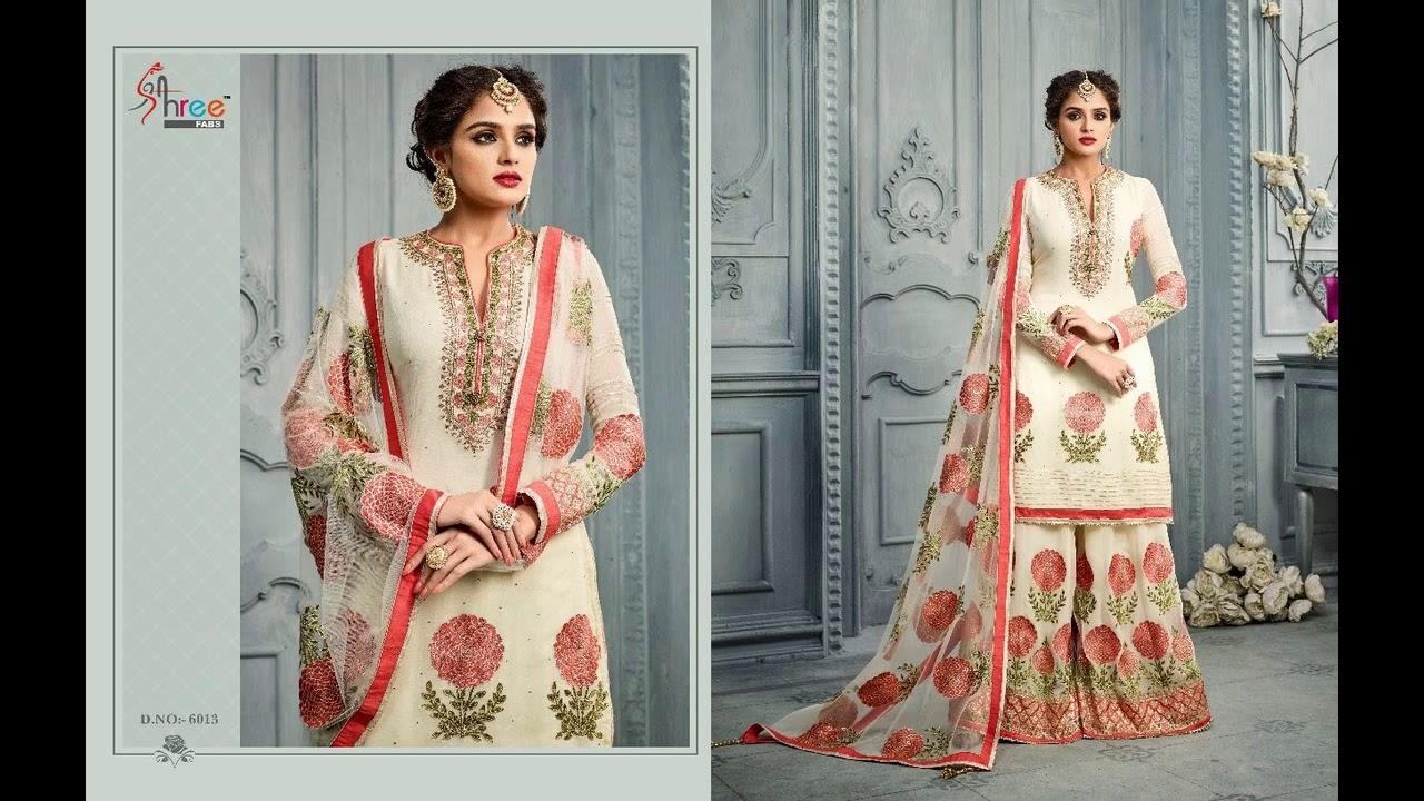e61586c4dd bundle of 5 wholesale salwar suit catalog shehnai bridal vol 3 by shree fab