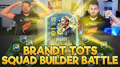 FIFA 20: BRANDT TOTS SQUAD BUILDER BATTLE vs STYLO (ESPORTLER) 😱🔥