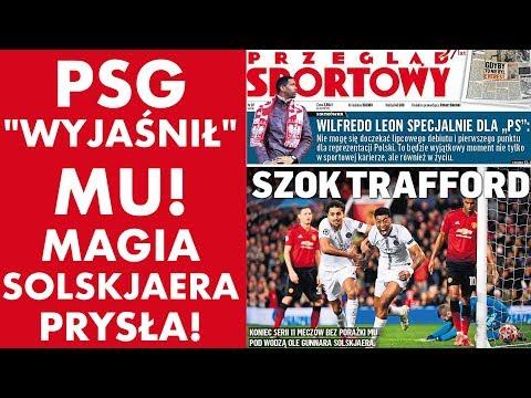 PSG 'wyjaśnił' Manchester United! 2:0 - magia Solskjaera prysła!