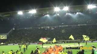 Dortmund - Schalke Stimmung vor dem Spiel BVB - S04 Derby