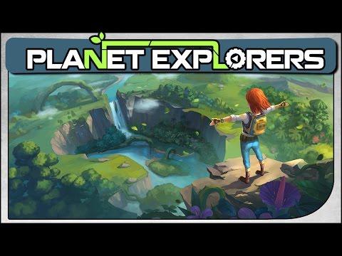 Planet Explorers - Sobrevivência e Exploração Espacial - Gameplay em Português(PT-BR)