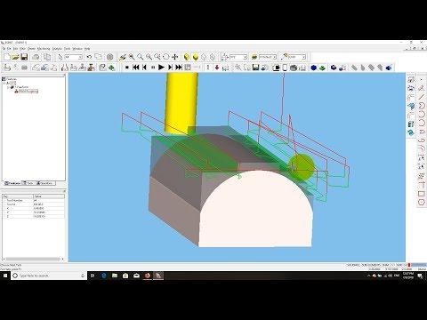 ESPRIT CAD/CAM | CNC Z-Level Solid Mill