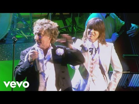 Rod Stewart - As Time Goes By (from One Night Only!) ft. Chrissie Hynde