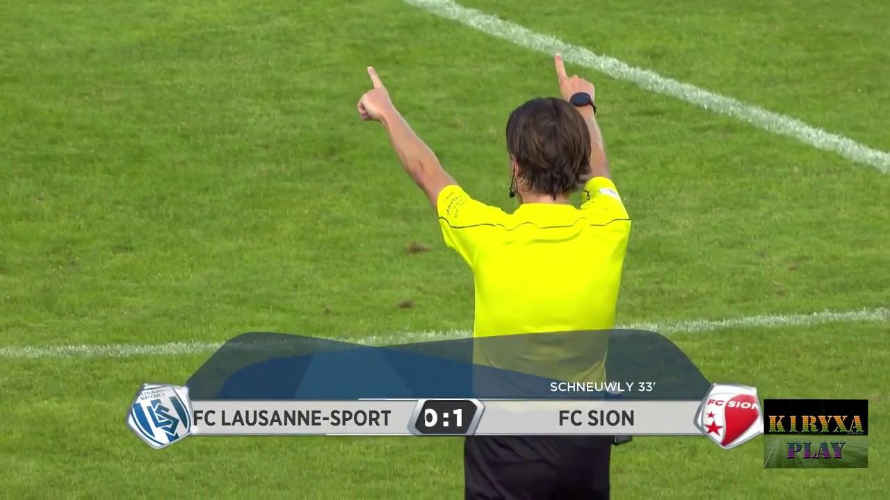 Лозанна-Спорт - Сьон 0:1 видео