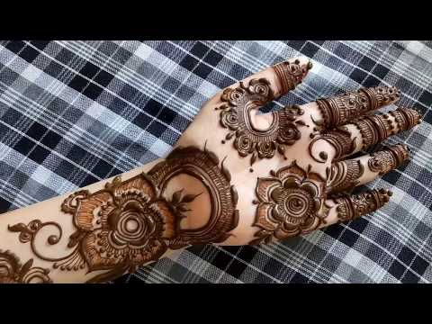 Diwali special mehndi design for hands #2