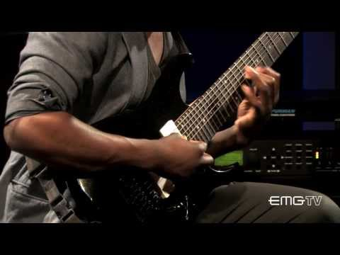 "Tosin Abasi Of Animals As Leaders Performs, ""Song Of Solomon"" On EMGtv"