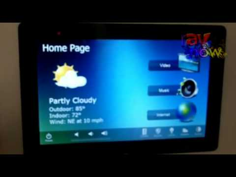Ise2012 Rti Intros Kx7 In Wall Touch Panel Youtube
