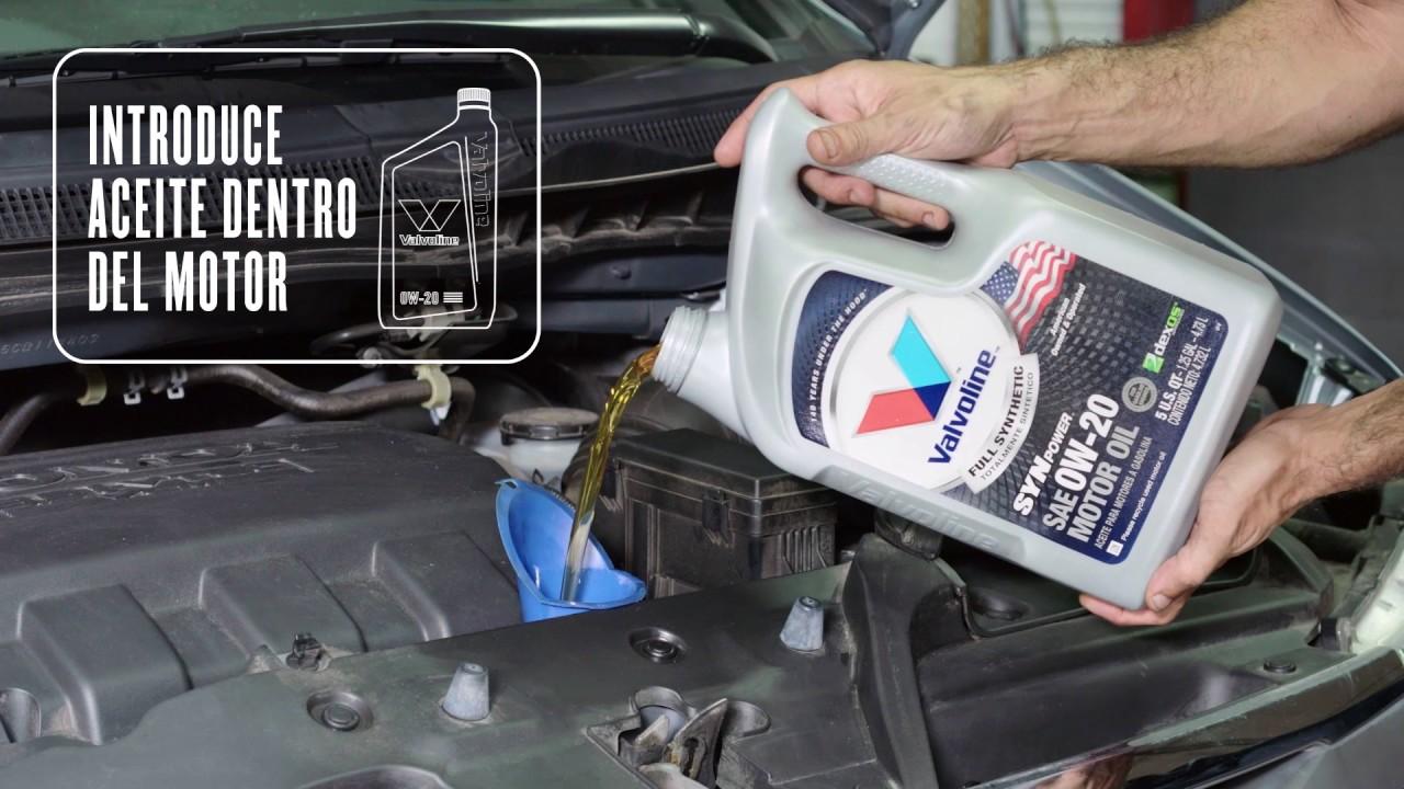 Cómo cambiar el aceite en un Honda Odyssey - YouTube