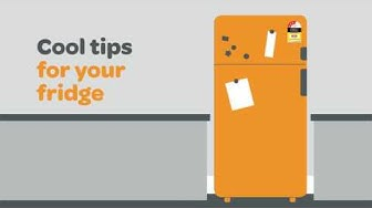 Cool tips for your fridge and your wallet - energy saving with Lumo.
