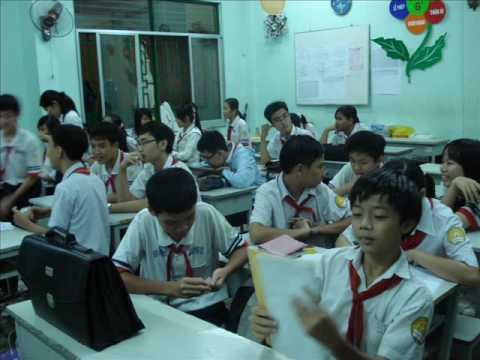 Lop 8A1 Truong THCS Hong Bang