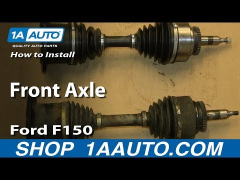 How To Install Replace Front Axle 2004-08 Ford F150 Expedition
