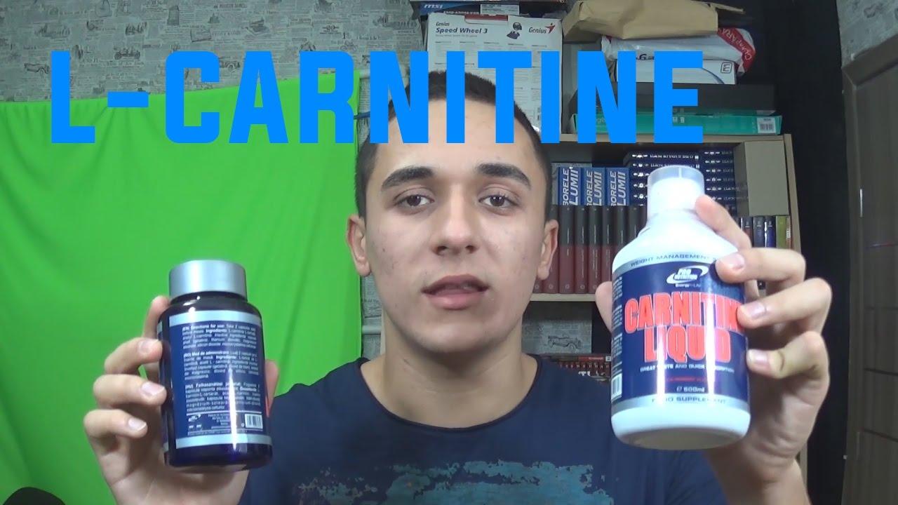 Totul despre Carnitina: efecte secundare, ajuta la slabit? -