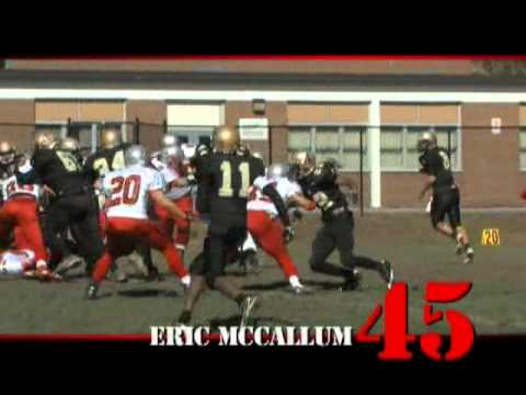 Eric McCallum Highlights 2010