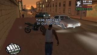 Starter Save - Part 12 - The Chain Game - GTA San Andreas PC - complete walkthrough-achieving ??.??%