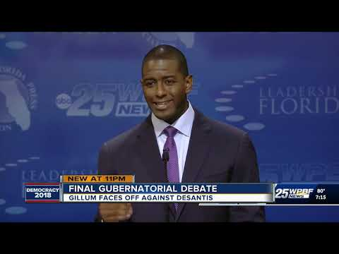 DeSantis, Gillum exchange insults in final Florida debate