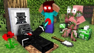 Monster School  RIP Wither Skeleton - Minecraft Animation