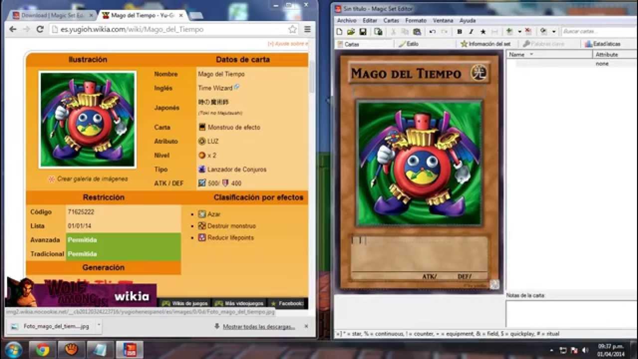 LINK ACTUALIZADO 2017) Magic Set Editor: Creador de Cartas TCG ...