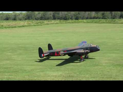 Huge Model Aircraft of DAM-BUSTERS Lancaster Bomber
