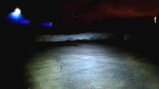 Как светит светодиодная круглая фара 80 вт Нива Уаз Jeep(Подробное описание по ссылке http://ledbalka.ru/goods/Svetodiodnye-fary-golovnogo-sveta-7-duymov-80w-defender-jeep-toyota-2-sht., 2015-12-08T20:38:36.000Z)