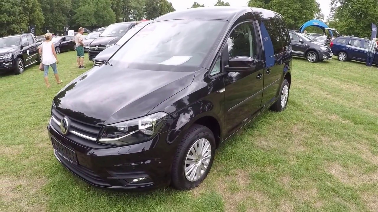 volkswagen vw caddy trendline 5 seats black colour. Black Bedroom Furniture Sets. Home Design Ideas