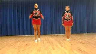 PC Cheer Try Out Cheer: Stomp & Scream