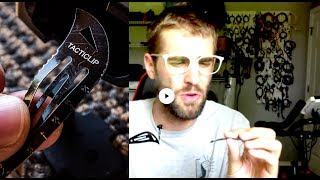 "🔪👩 LIVE, Tacticlip® ""Knife Hair Clip"" Design Discussion, History, & Future - Military Women Hair"