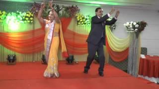 Nikhil Reception mom- papa dance || Amit sharma