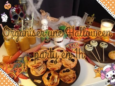 organiser une halloween party kawaii en 1h youtube. Black Bedroom Furniture Sets. Home Design Ideas