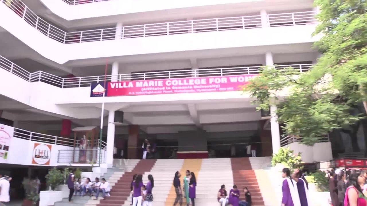 Villa Marie College Fiesta 2014 Inaugurated At Hyderabad