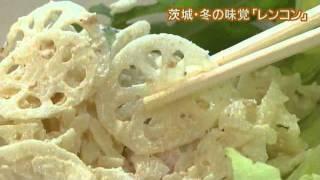磯山さやかさんが,生産量日本一を誇る茨城の「レンコン」を紹介します...