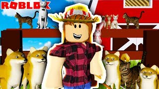 OPENING A PET RANCH IN ROBLOX (FLEXING ON OTHER RANCHES) 😤🐶
