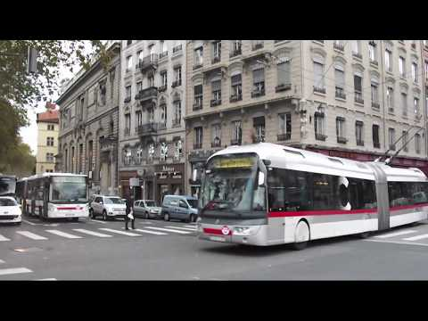 Les Trolleybus En Musique (Lyon)