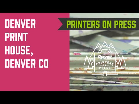 Printers On Press Ep. 7 - Denver Print House