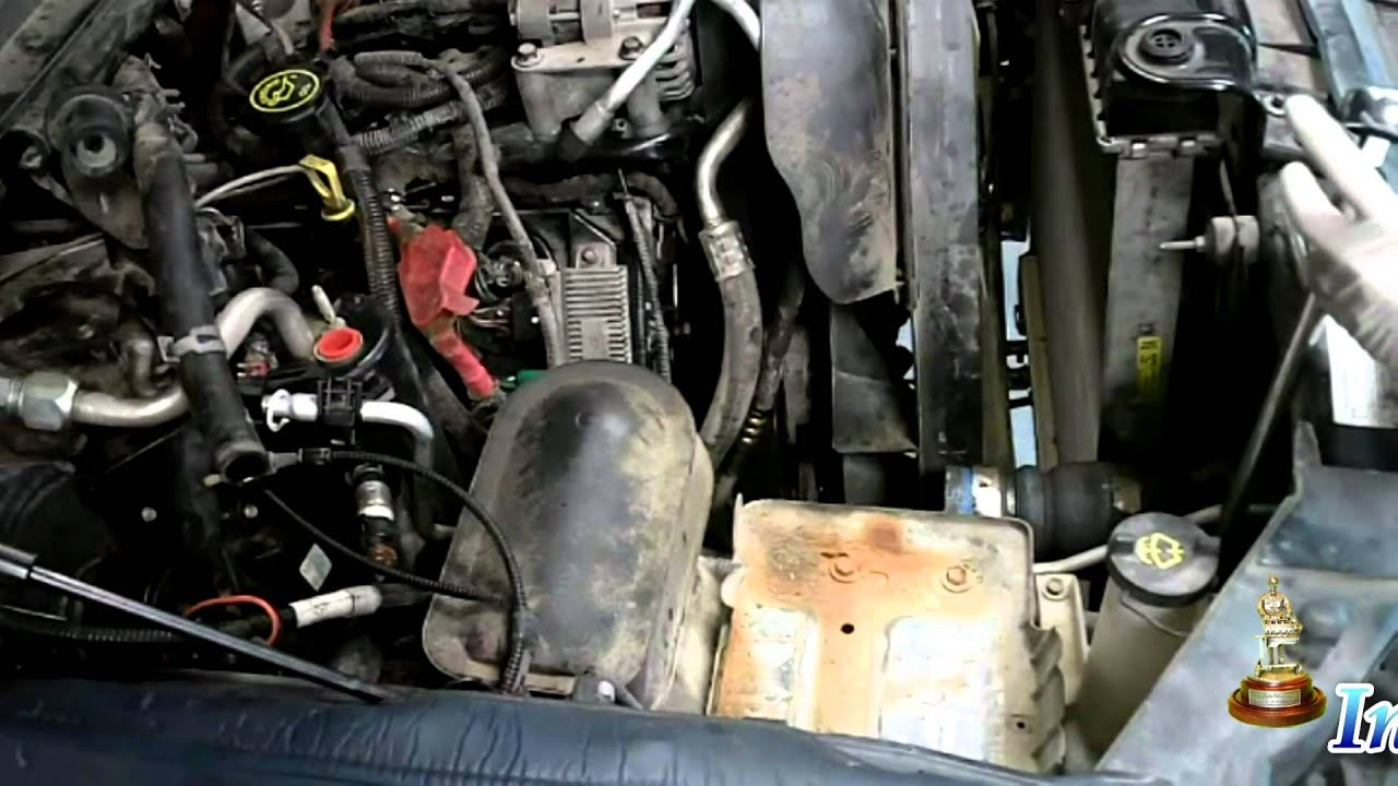 6 0 liter ford powerstroke complete engine assembly install cab [ 1280 x 720 Pixel ]