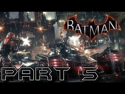 Batman Arkham Knight Walkthrough Part 5 - Protect Commissioner Gordon (Hard Difficulty PS4)